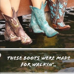 Shoes - All kinds of boots,